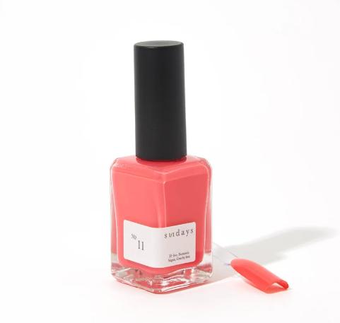 Watermelon nail color
