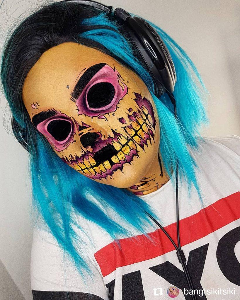 Halloween Makeup Look 10