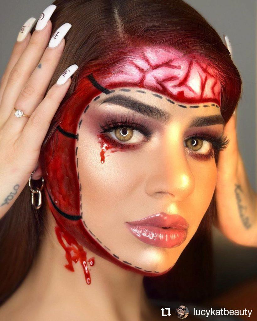 Halloween Makeup Look 13