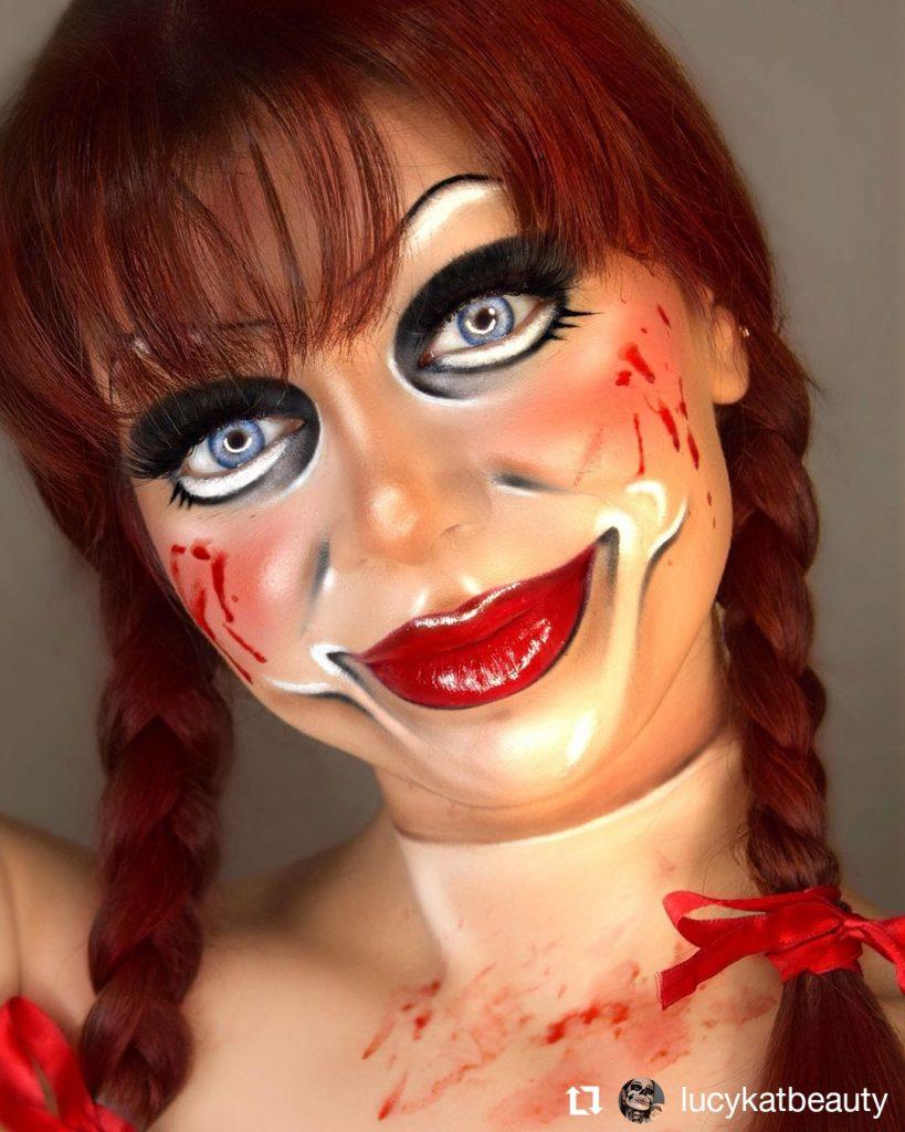Halloween Makeup Look 21