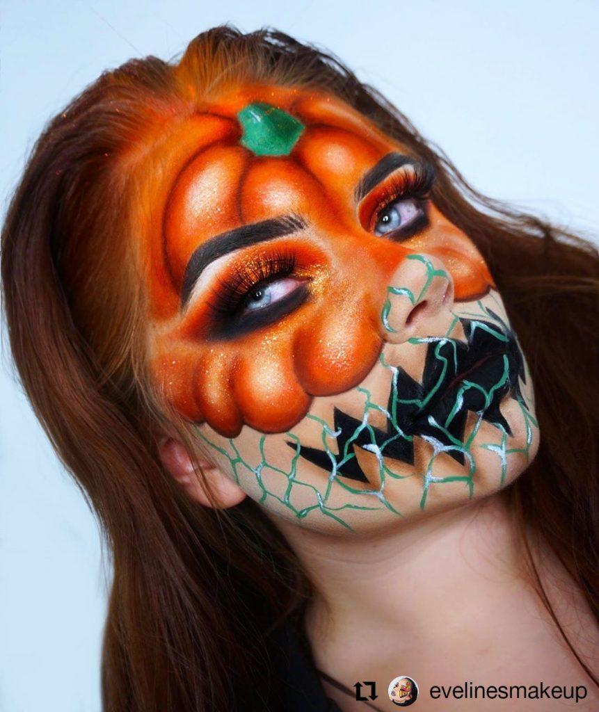 Halloween Makeup Look 28