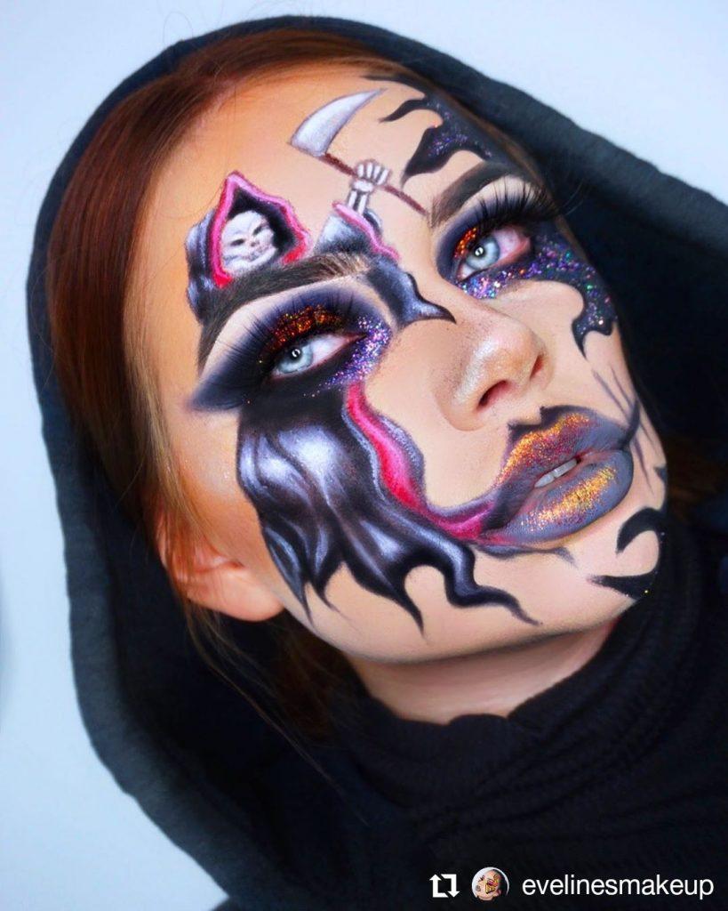 Halloween Makeup Look 7