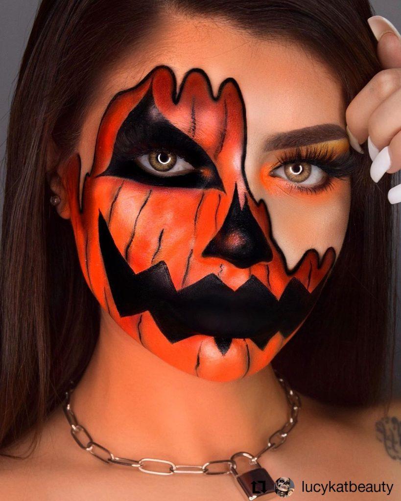 Halloween Makeup Look 8