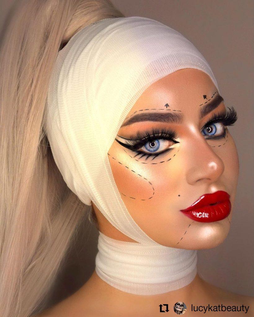 Halloween Makeup Look 9